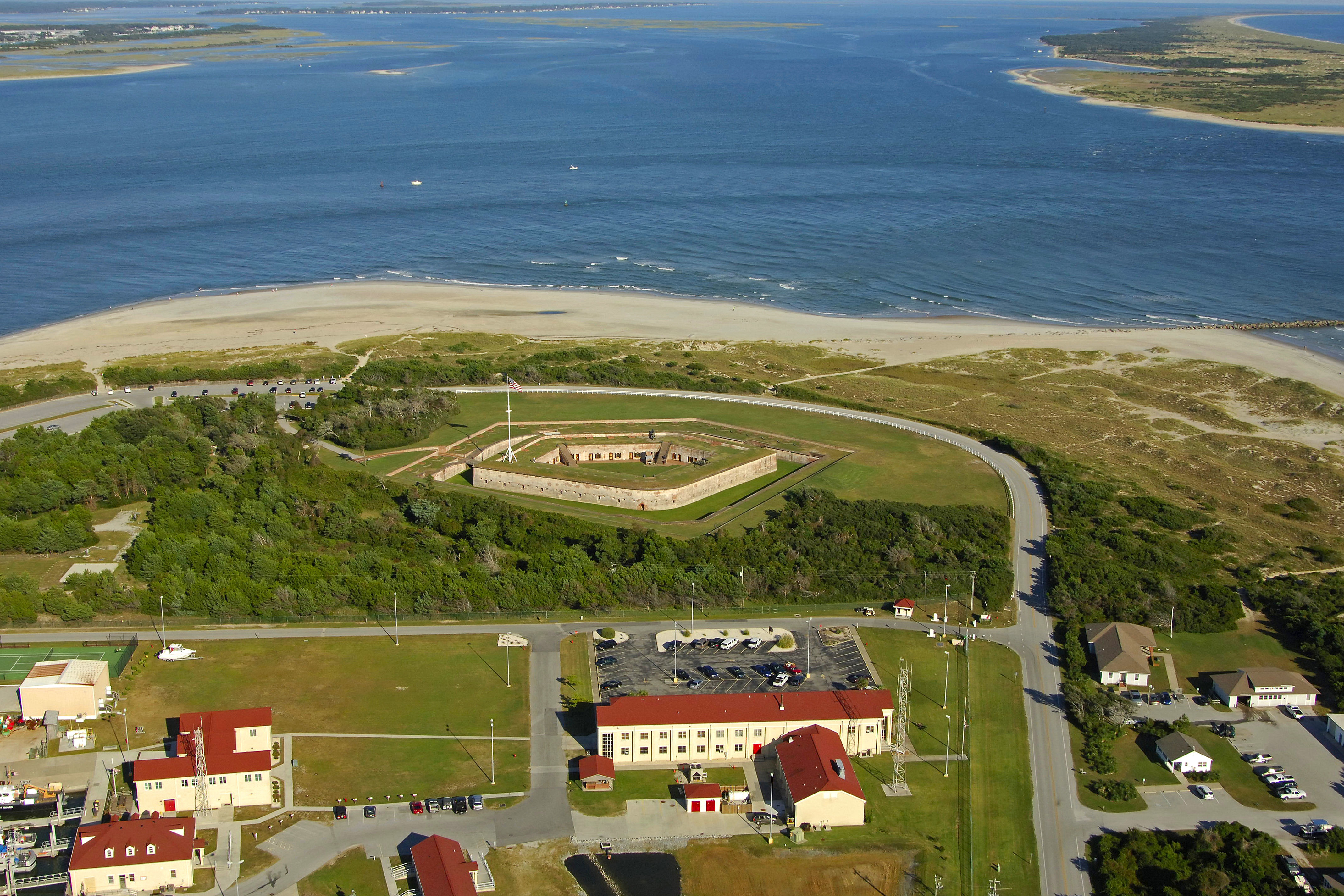 Fort Macon State Park Landmark In Atlantic Beach Nc United States