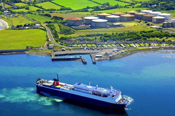 Ballylumford Harbour