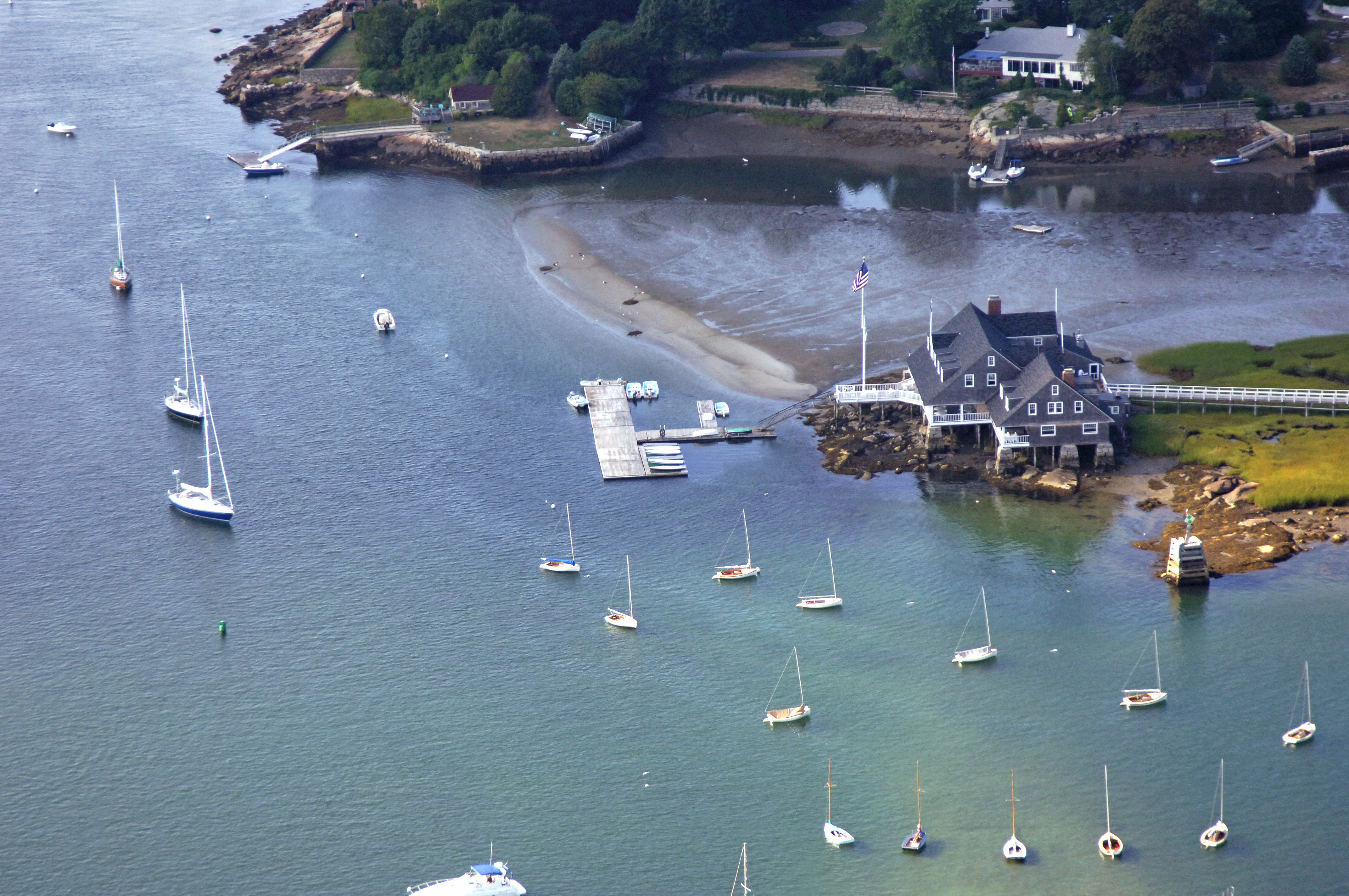 Annisquam Yacht Club In Gloucester Ma United States