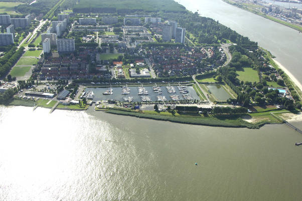 Jachthaven Antwerpen Linkeroever
