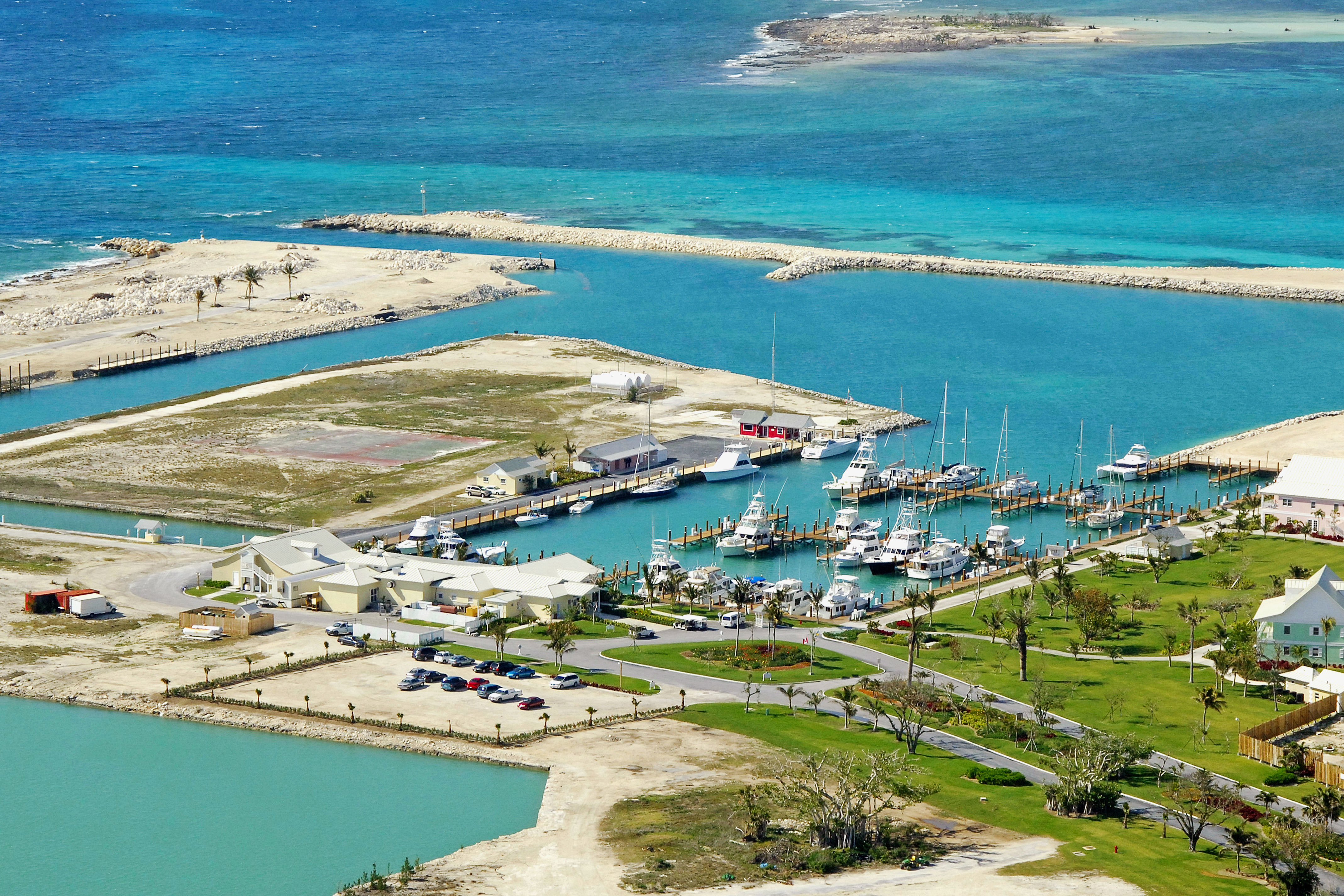Old Bahama Bay Resort  Marina in West End Bahamas