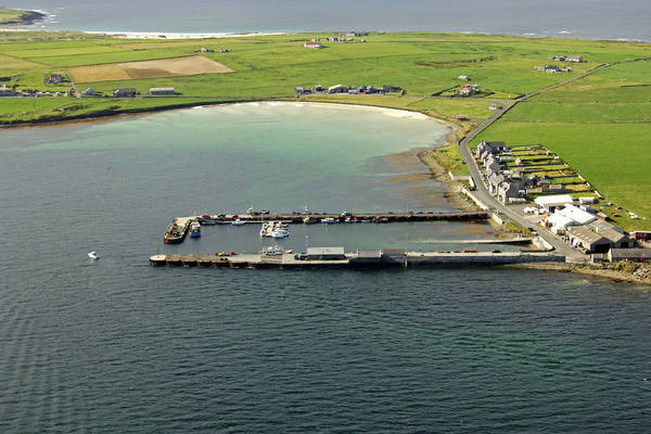 Westray Ferry Harbour