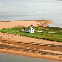 Cascumpeque Sandy Island Front Range Lighthouse