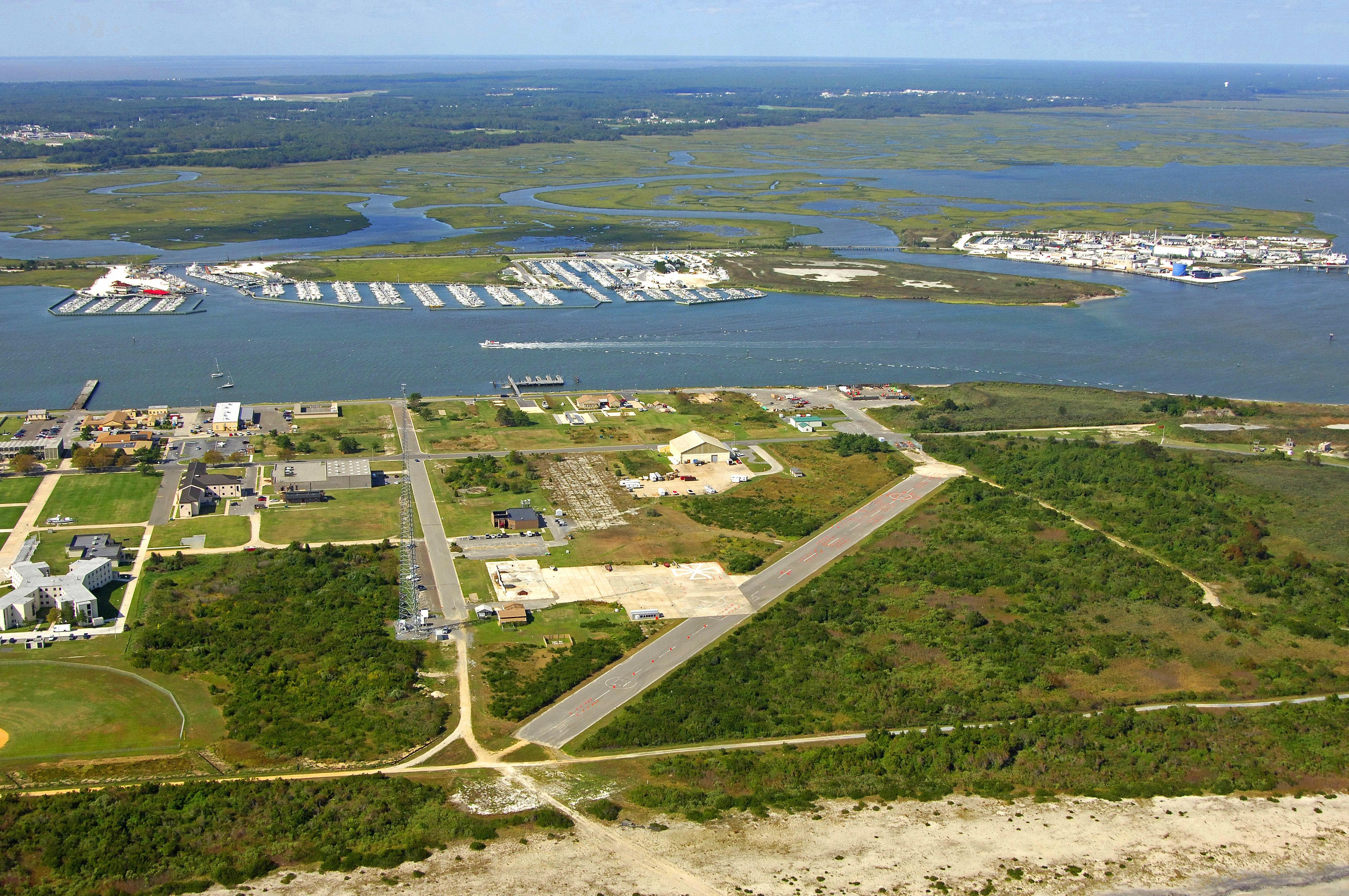 Cape May Harbor in Cape May, NJ, United States - harbor ...