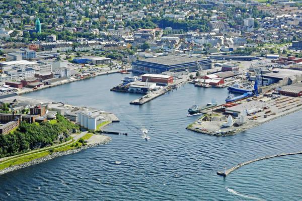 Trondheim Nyhavna Harbour
