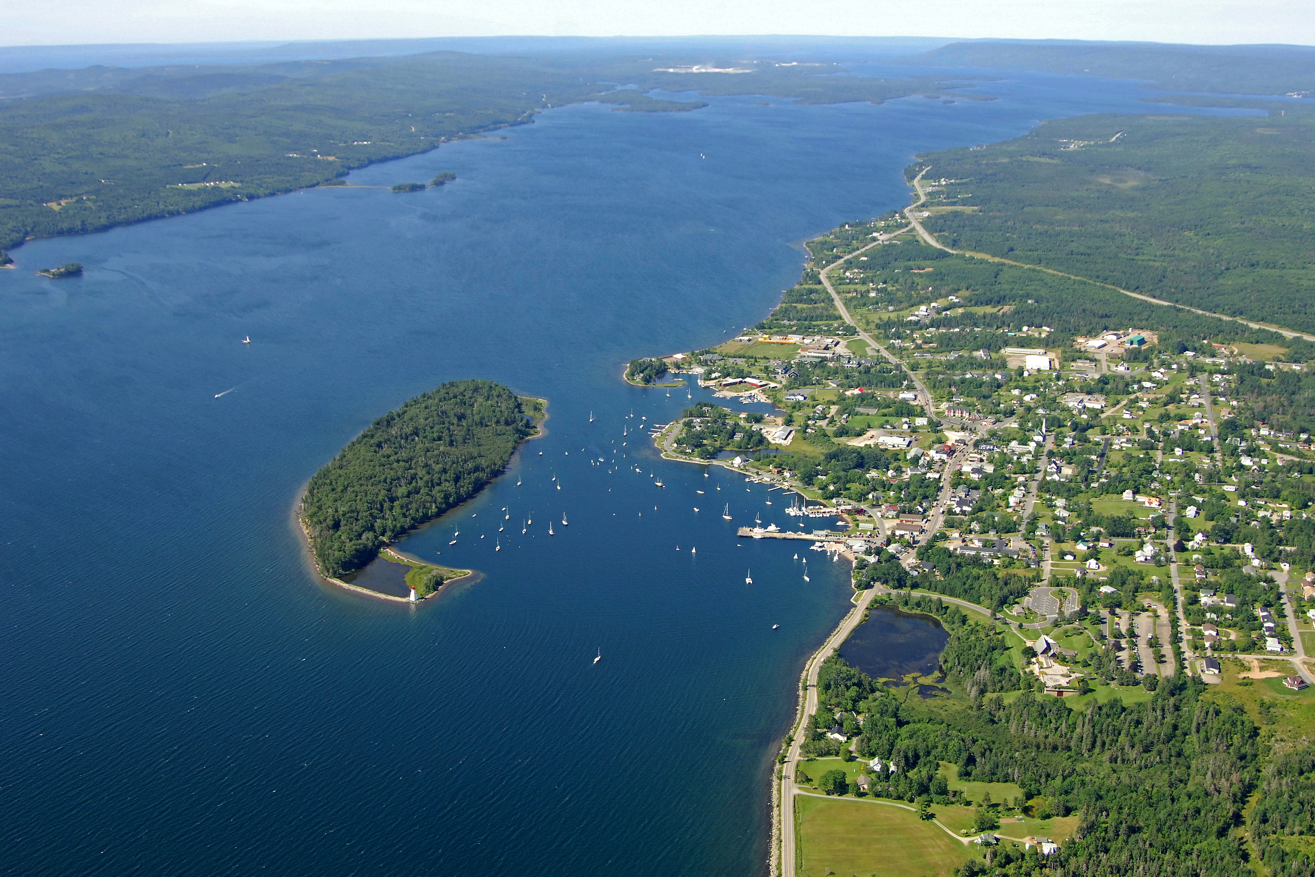 Baddeck Bay In Ns Canada Harbor Reviews Phone Number