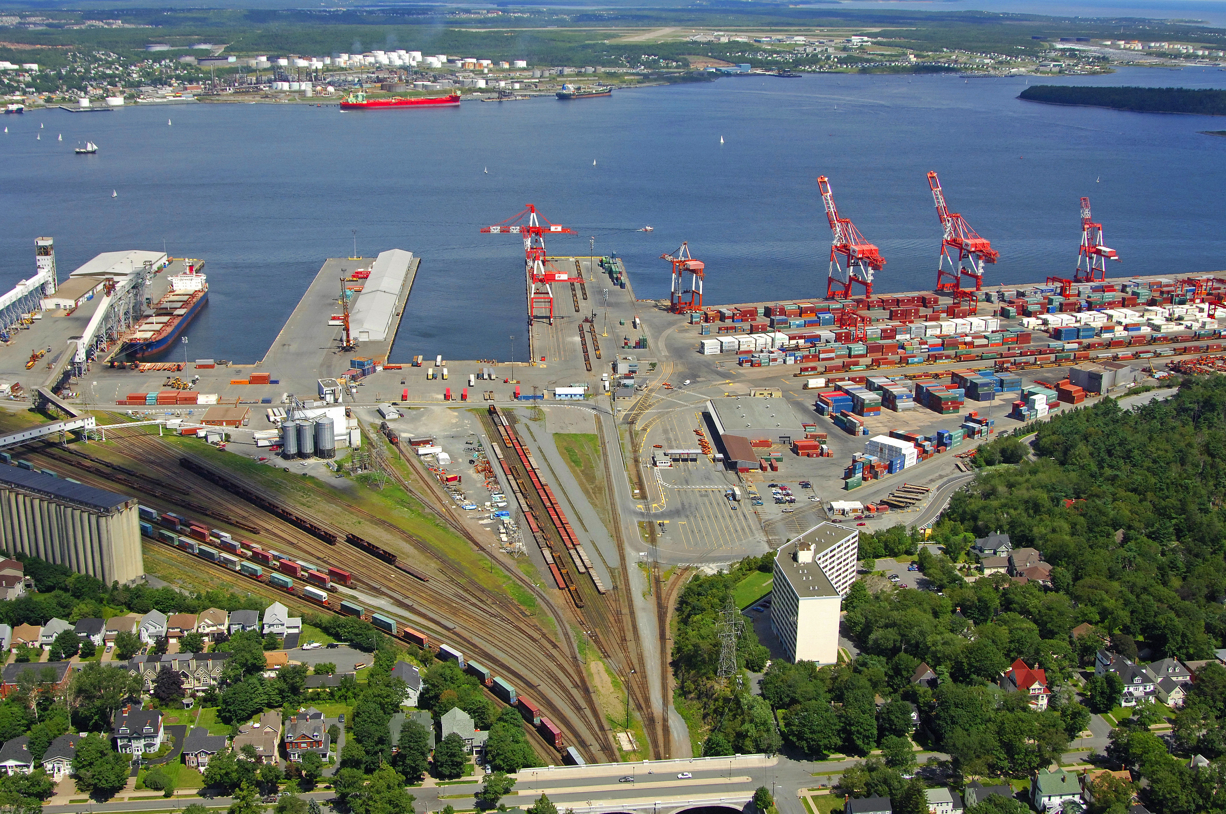 South End Container Terminal in Halifax, NS, Canada - Marina Reviews