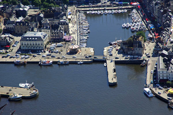 Honfleur Old Basin Bridge