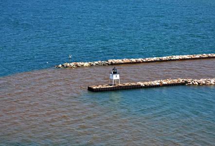 Ontonagon Harbor West Pierhead Lighthouse