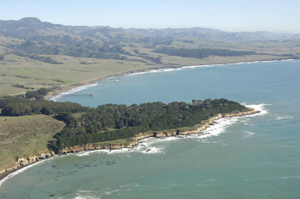 San Simeon Bay Anchorage