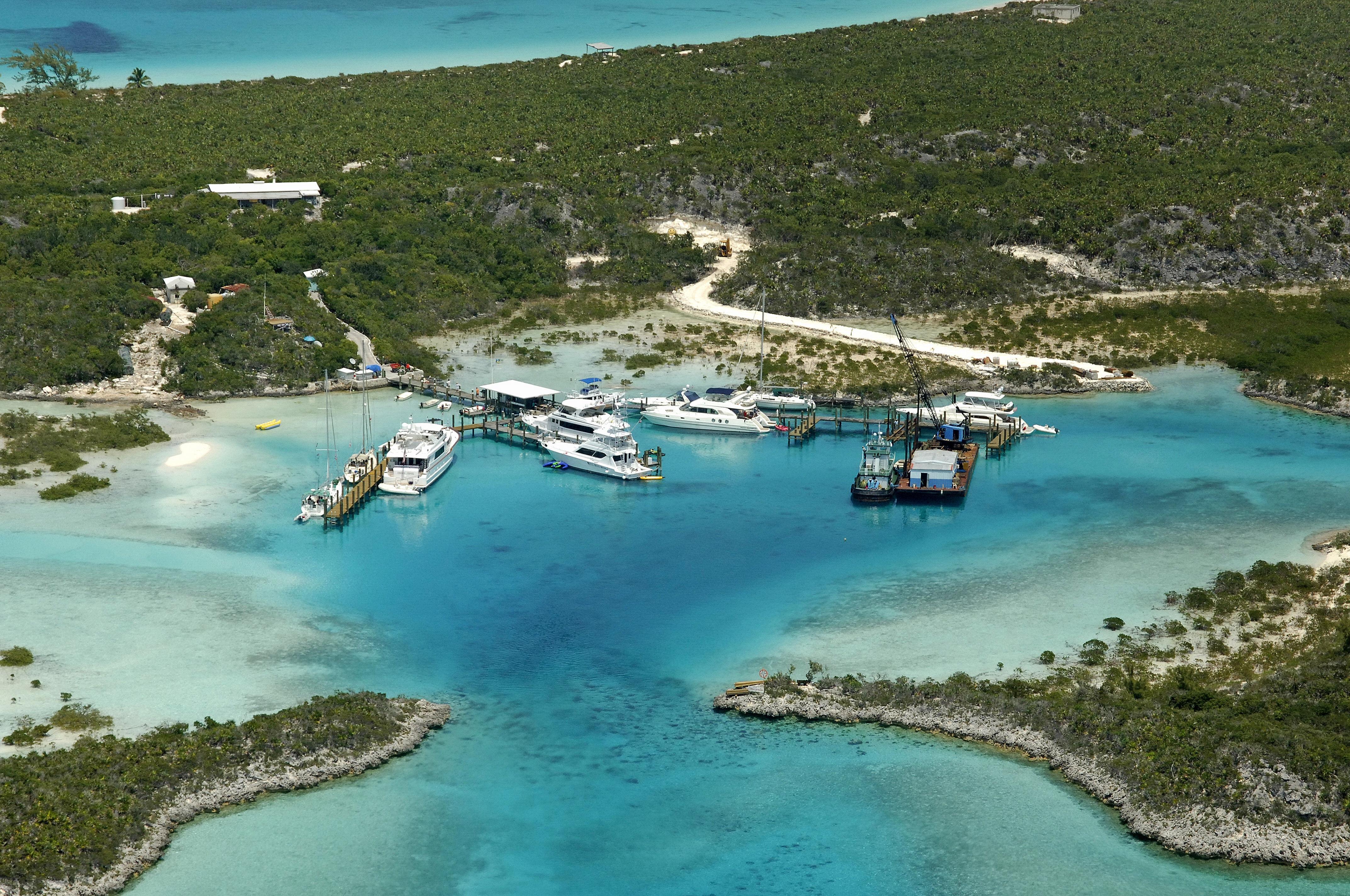 Compass Cay Marina in Staniel Cay, EX, Bahamas - Marina