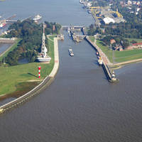 Canal Entrance Old North Baltic Sea Inlet
