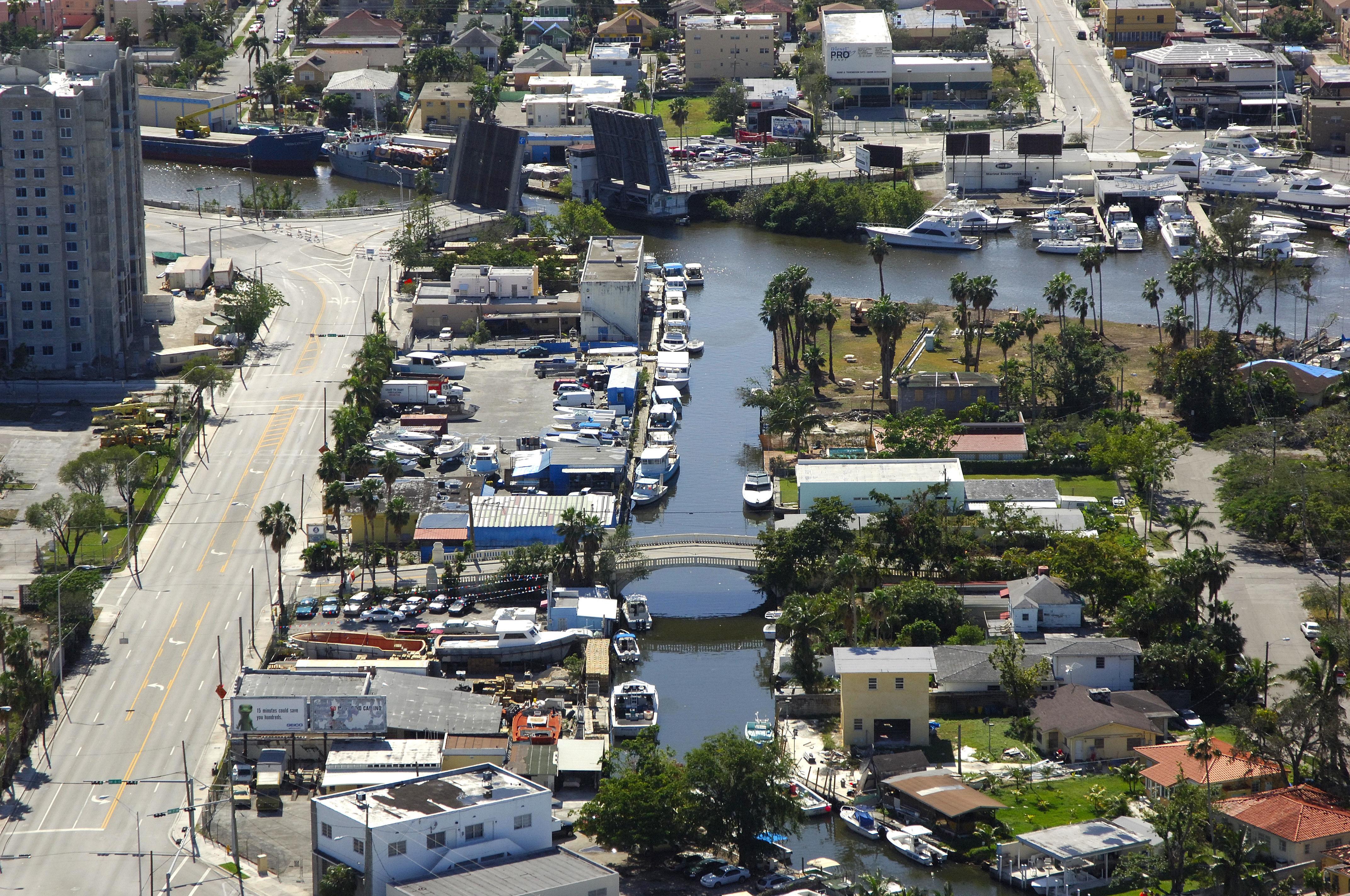 River Canal Marina in Miami, FL, United States - Marina ...