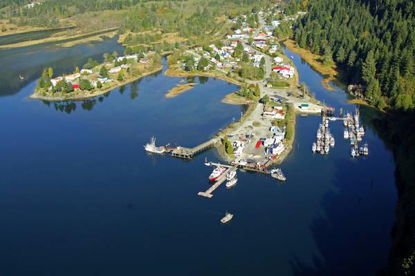 Village of Zeballos Dock