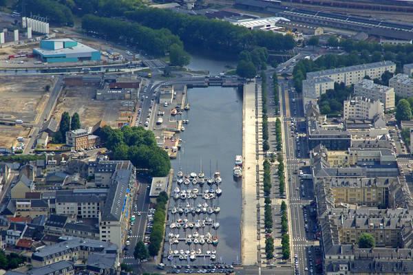Caen Basin Saint Pierre Marina