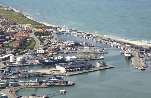 Hirtshals Harbor West Basin