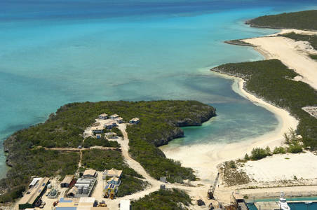 Cave Cay Anchorage