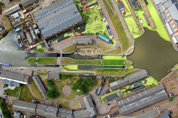 Shropshire Union Canal Locks