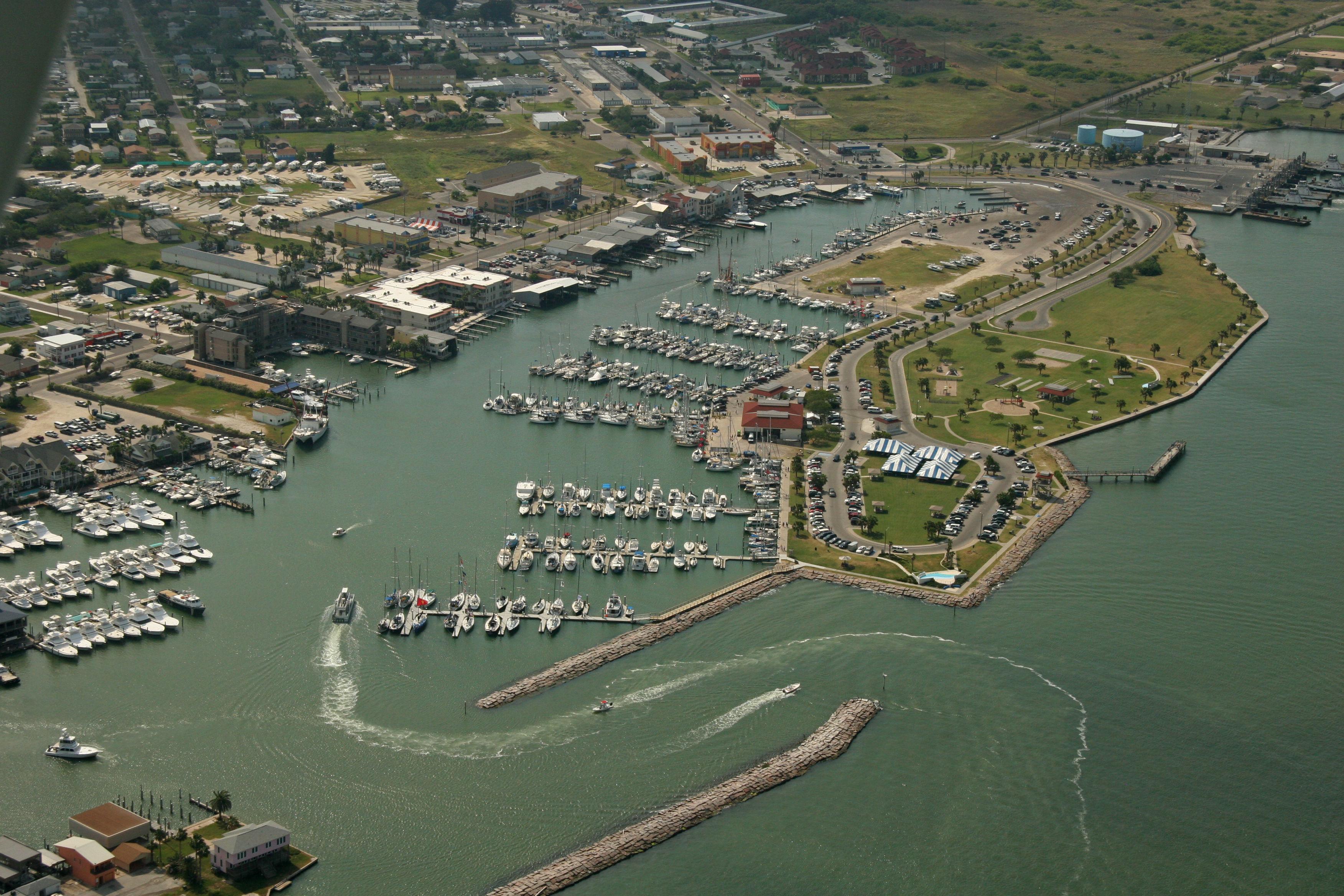 Port aransas city harbor in port aransas tx united for Port a texas