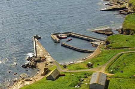 Stroma Harbour