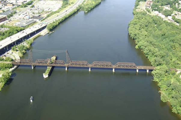 Hudson River CSX Railroad Swing Bridge