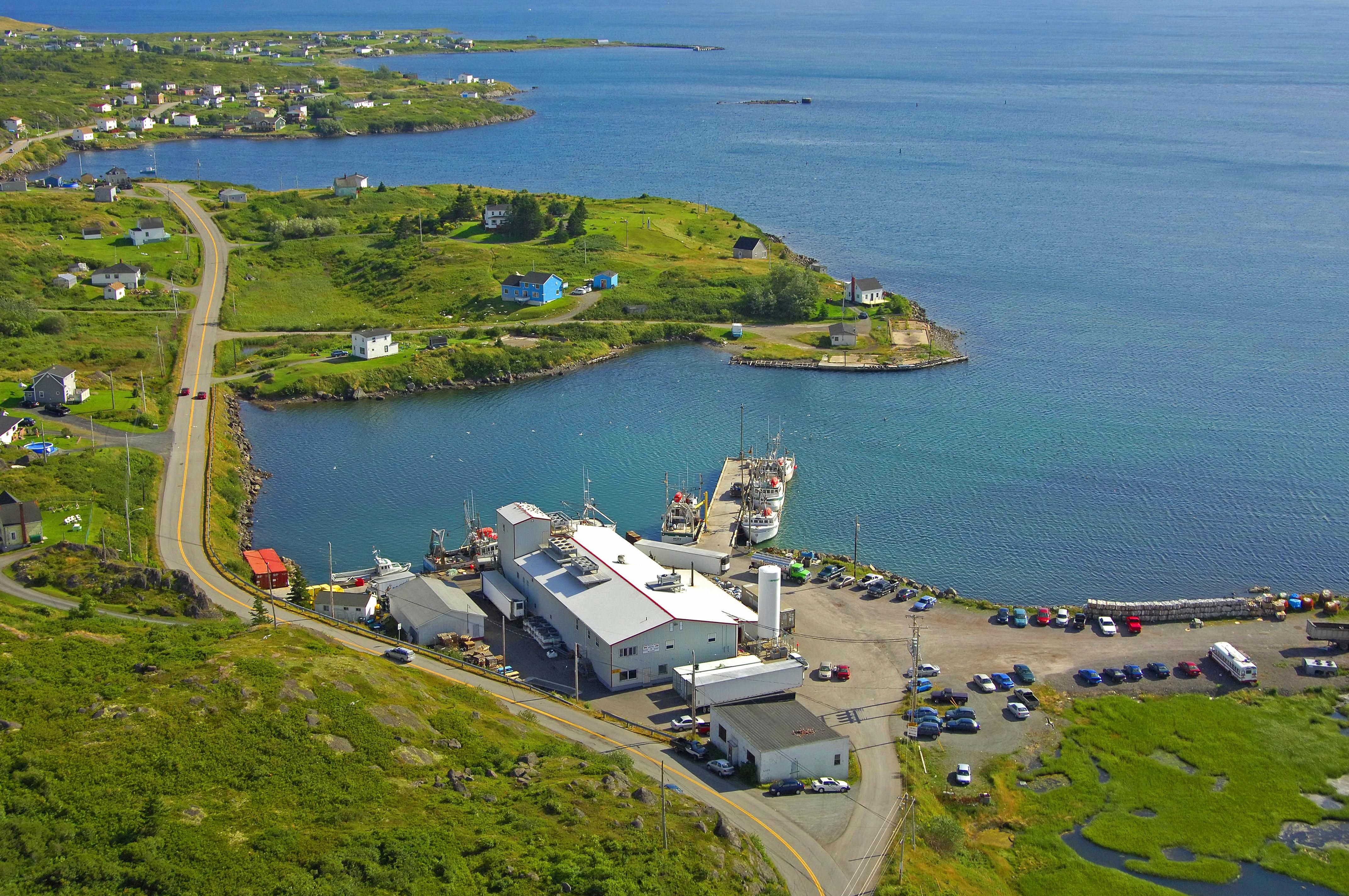Petit de Grat Packers Wharf in Petit de Grat, NS, Canada - Marina