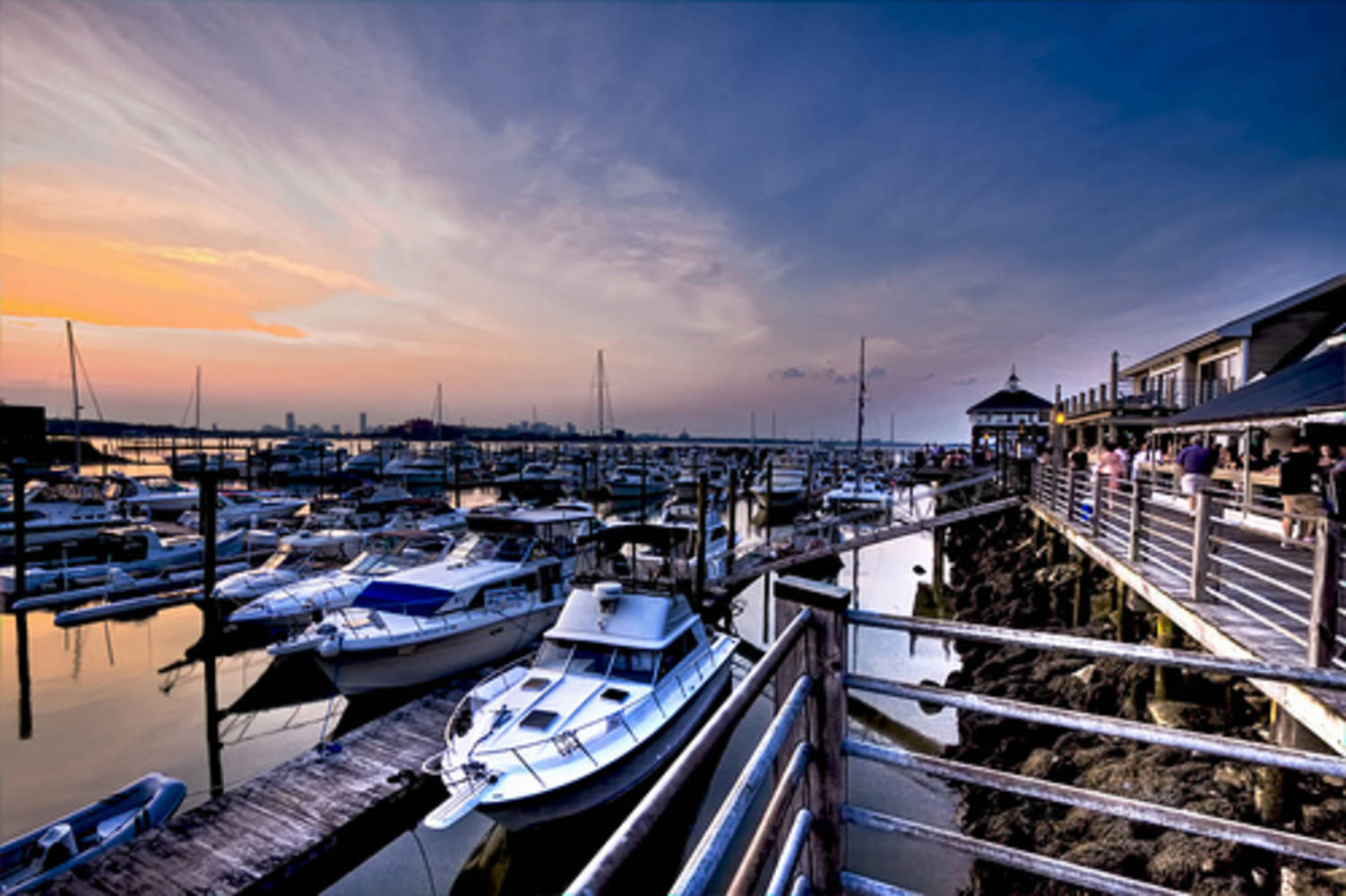 Safe Harbor Marina Bay Boston Slip Dock Mooring