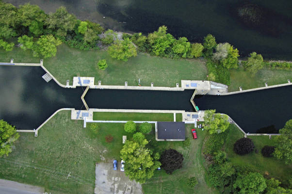 Trent River Lock 13