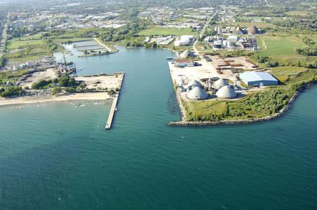Oshawa Harbour Inlet