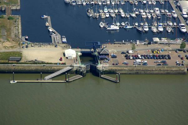 Chatham Maritime Lock