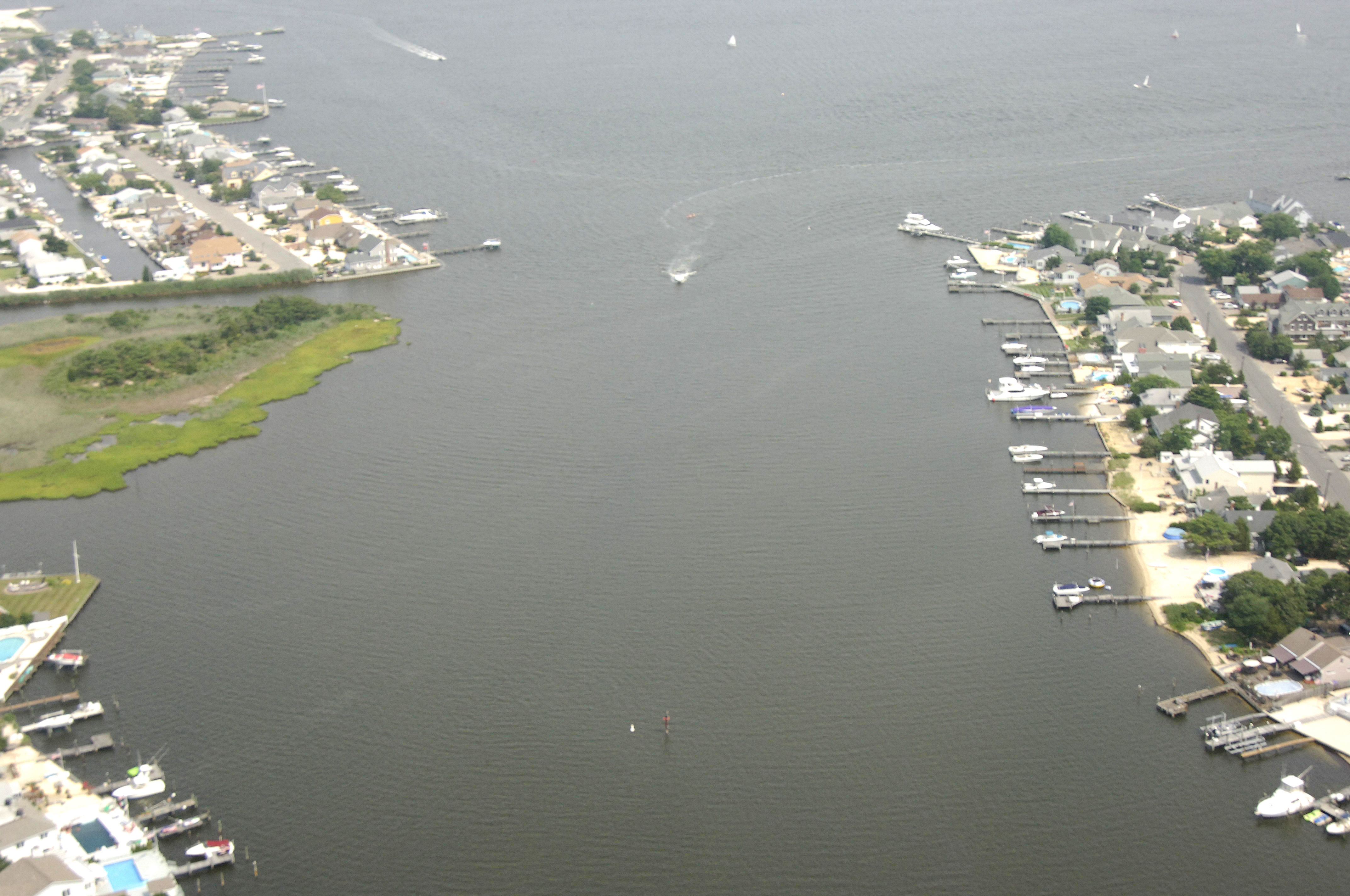 Beaverdam Creek Inlet In Bay Head Nj United States Inlet Reviews