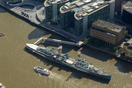 HMS Belfast Ferry