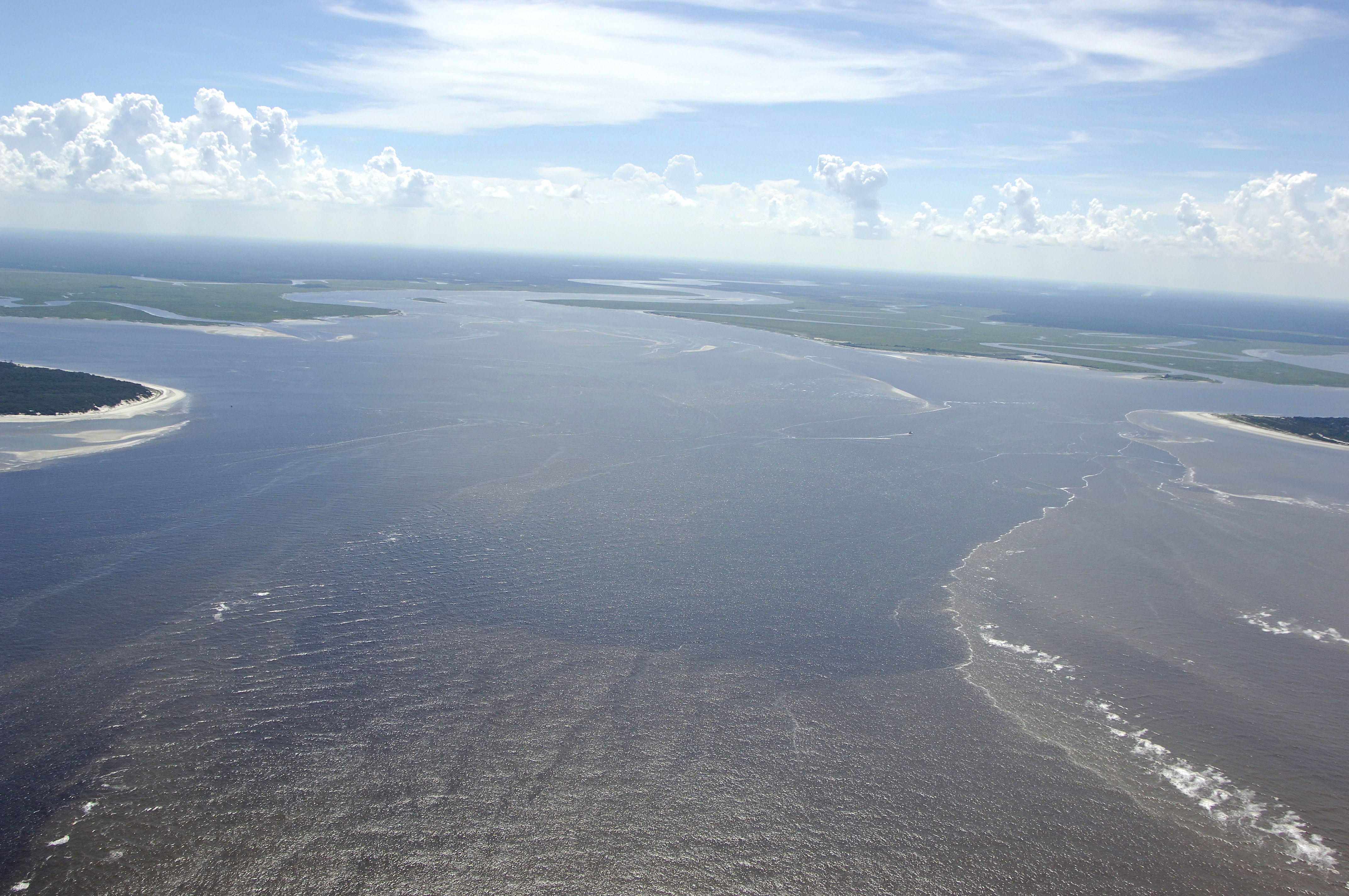 St Andrews Sound Entrance Inlet In Jekyll Island Ga United States