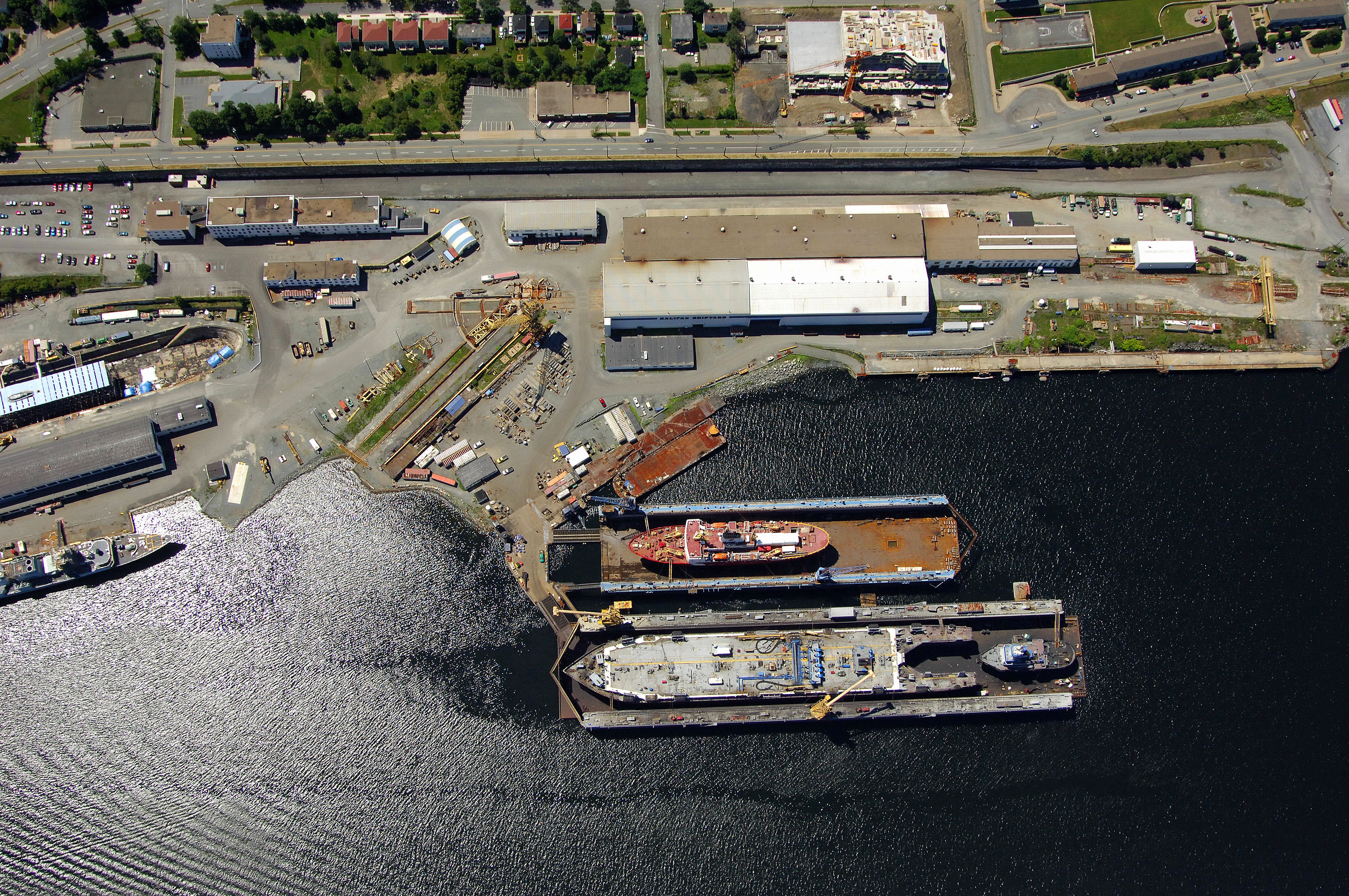 Halifax Shipyard in Halifax, NS, Canada - Marina Reviews