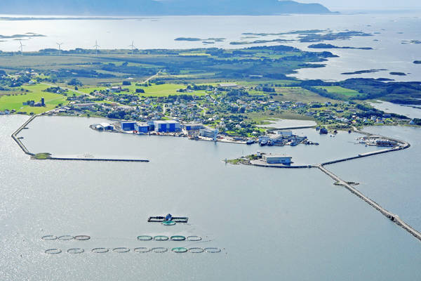 Steinshamn Harbour