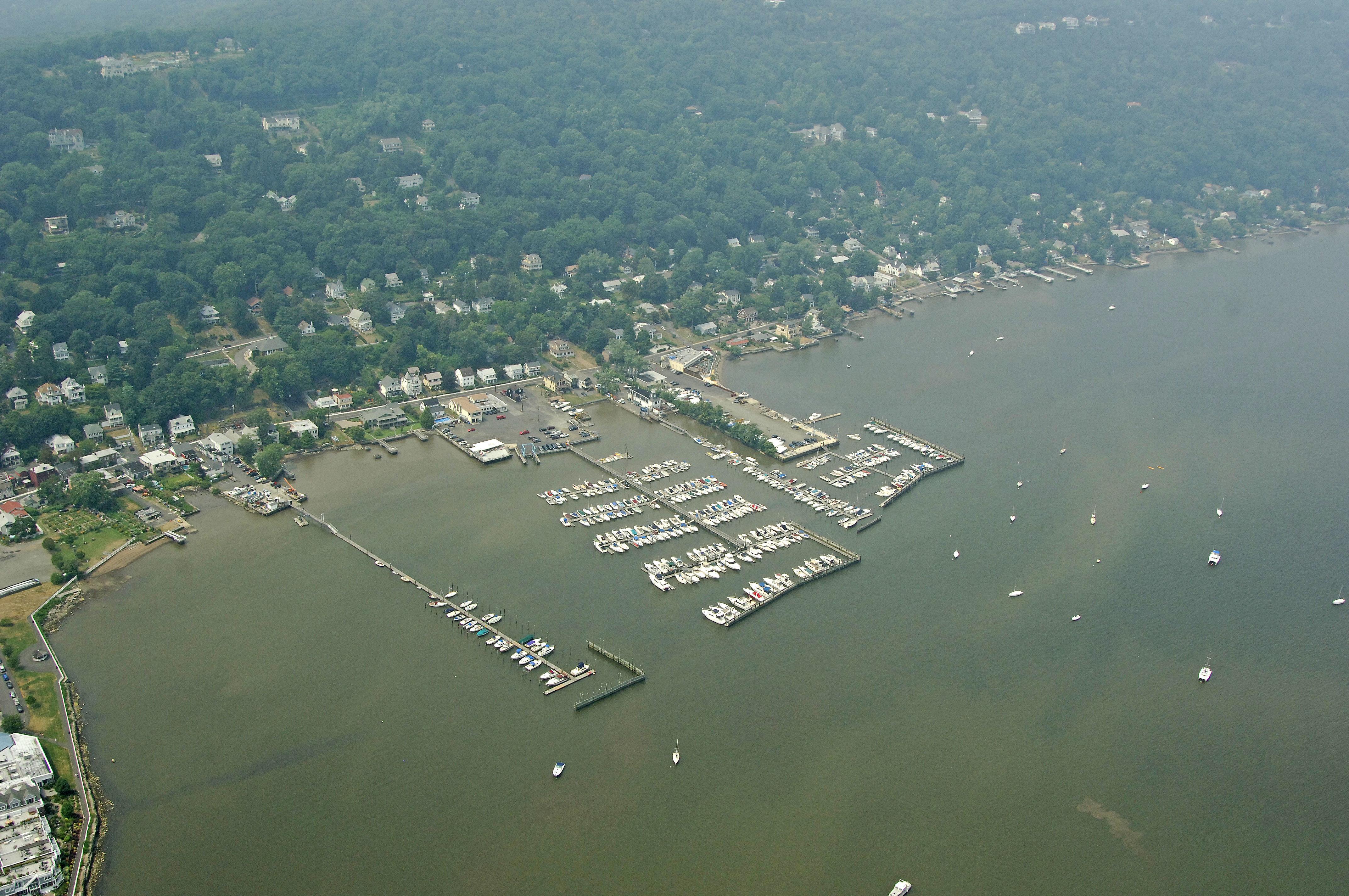 Tappan Zee Marina In Piermont  Ny  United States