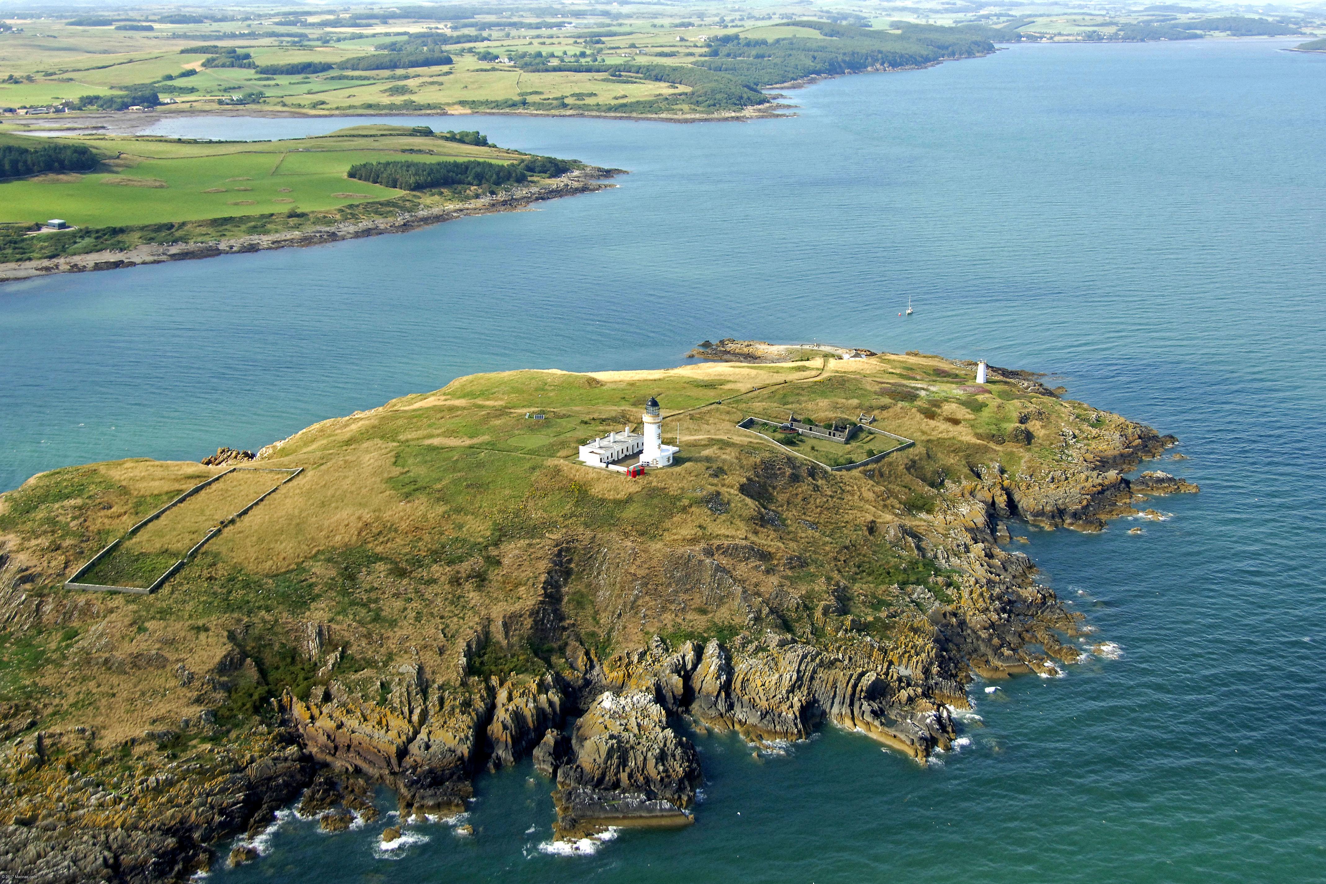 Little Ross Light Lighthouse In Kirkcudbright Sc United