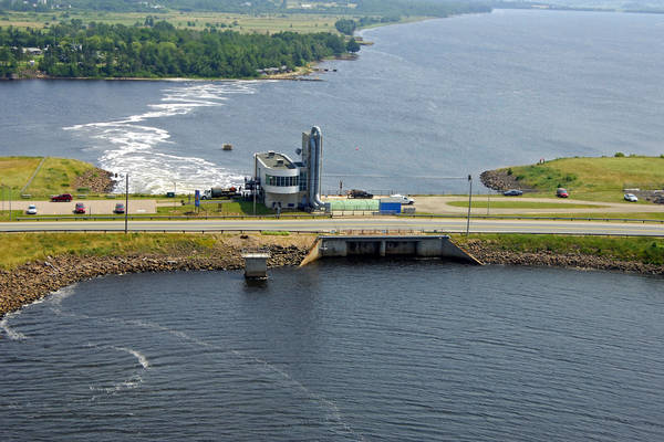 Annapolis Tidal Power Generating Station, North