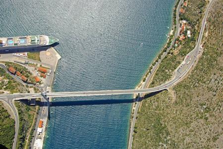 Rijeka Dubrovacka Inlet