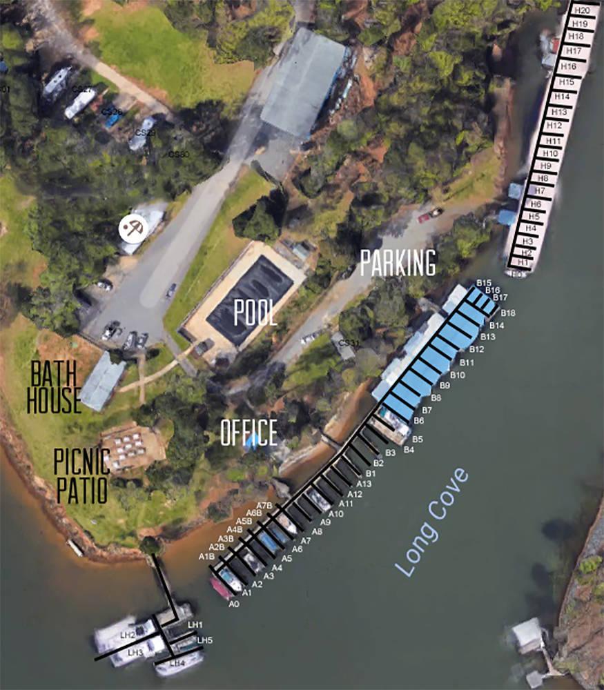 Long Cove Harbour Amp Beach Club Slip Dock Mooring