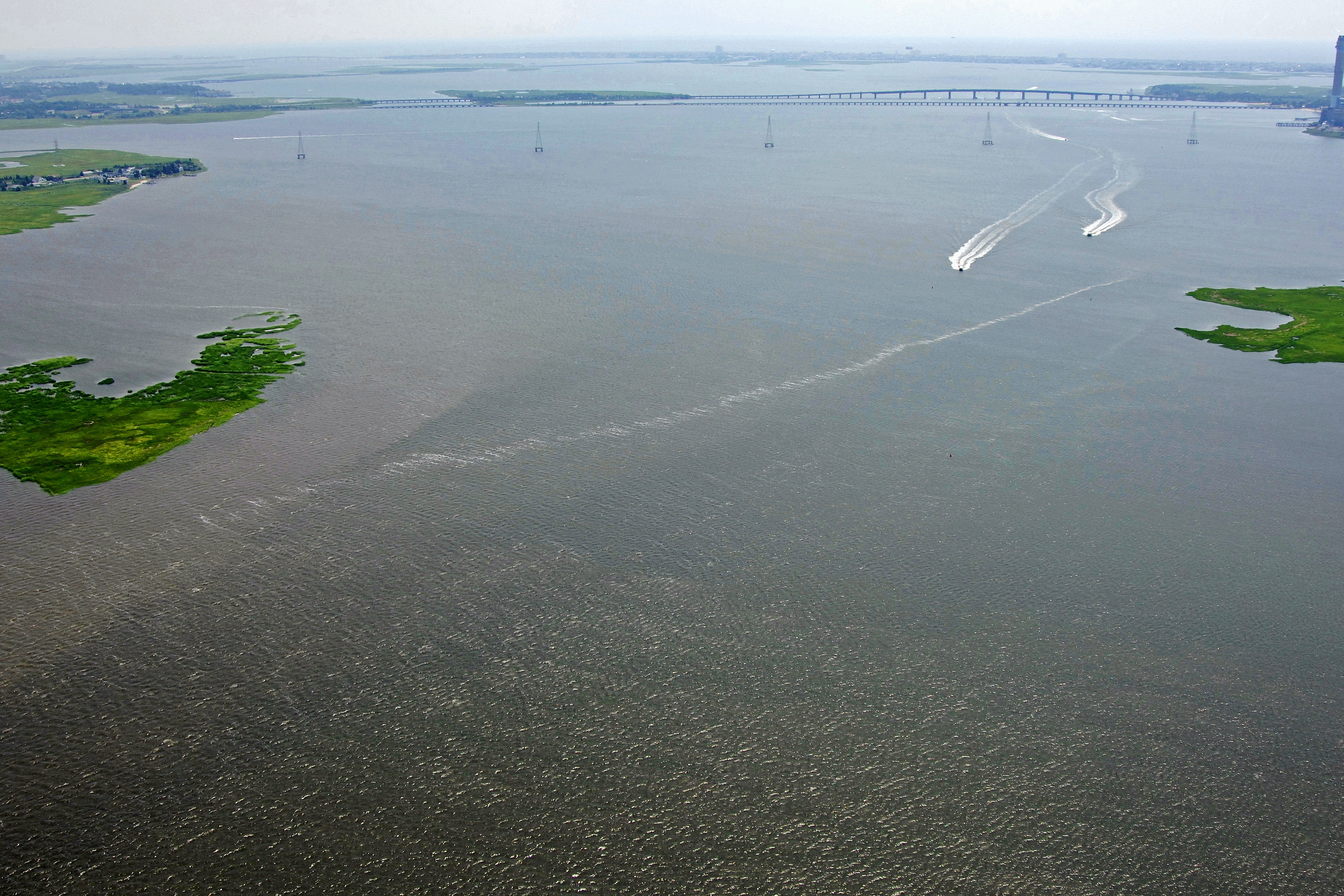 Great egg harbor river inlet in jeffers landing nj united states great egg harbor river inlet nvjuhfo Image collections