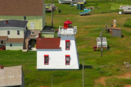 North Rustico Harbour Lighthouse
