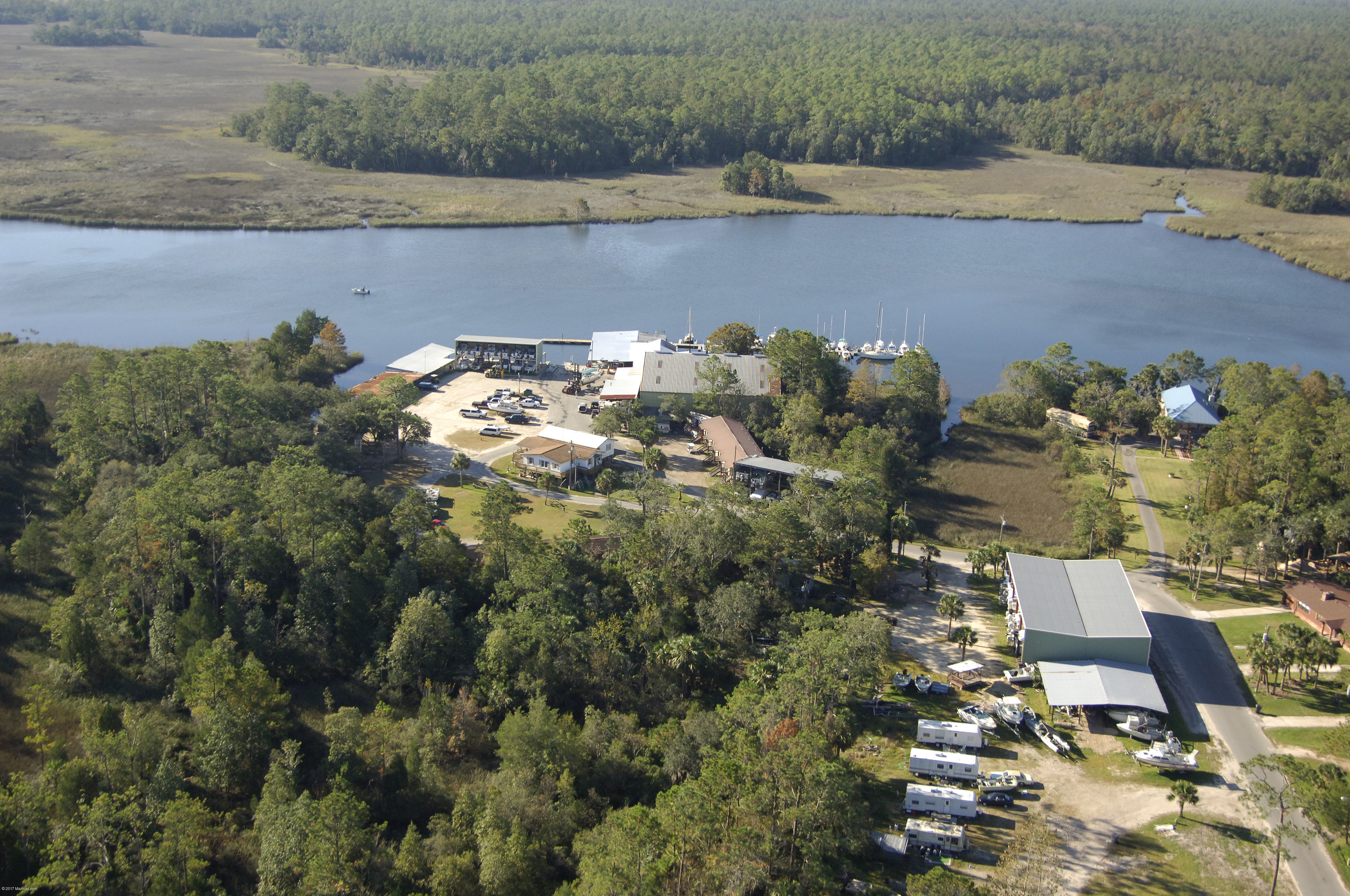 Shell Island Fish Camp St Marks
