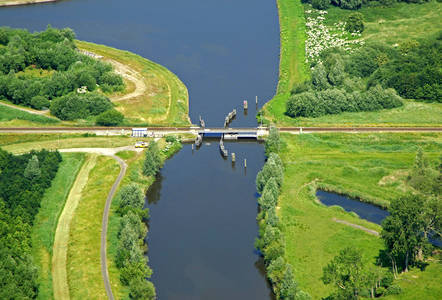 Winschoeterdiep Canal Bridge 3