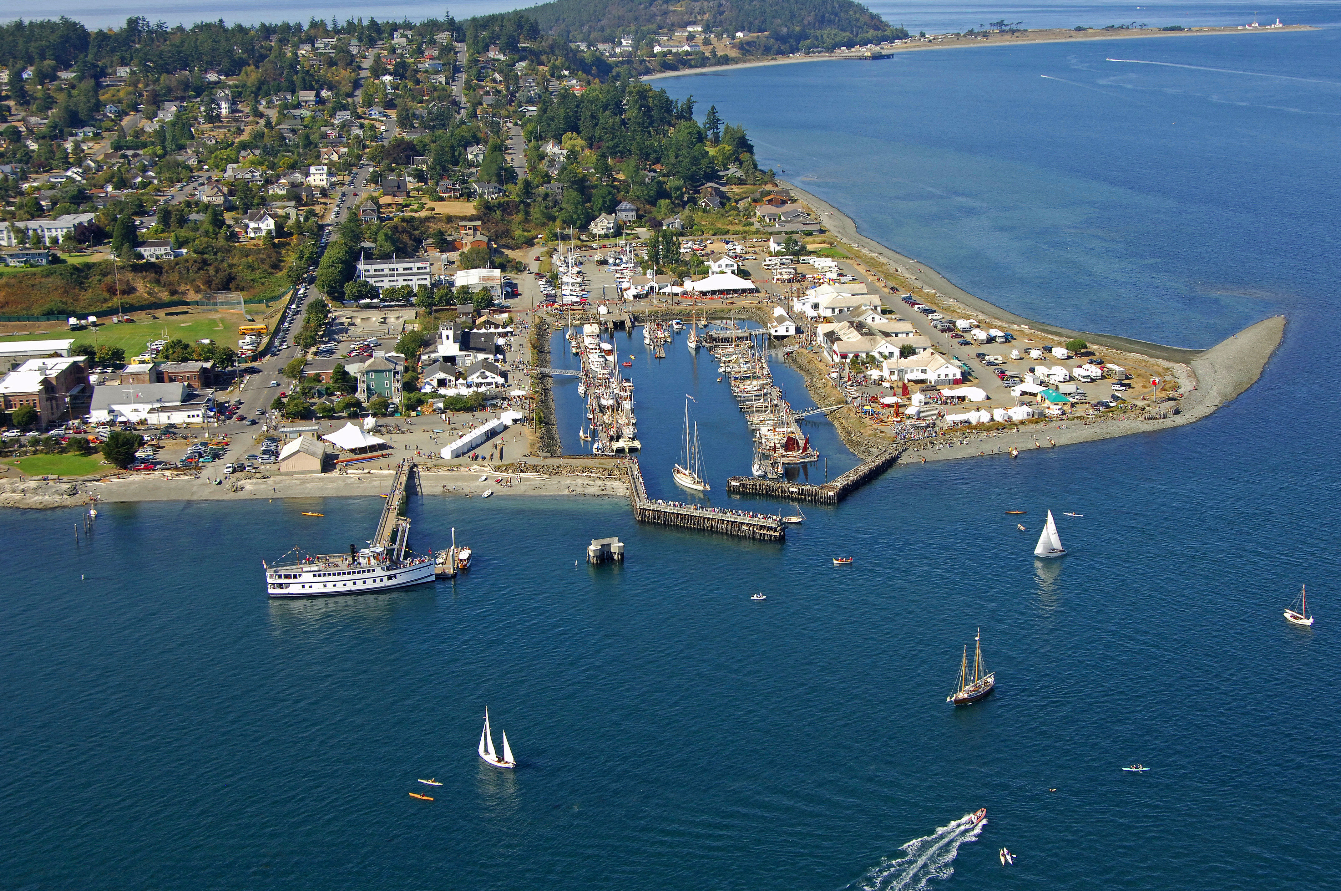Point Hudson Marina And Rv Park In Port Townsend Wa