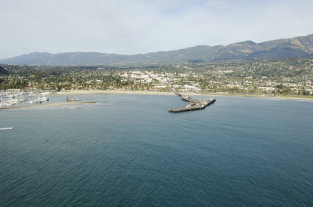 Santa Barbara Harbor Inlet