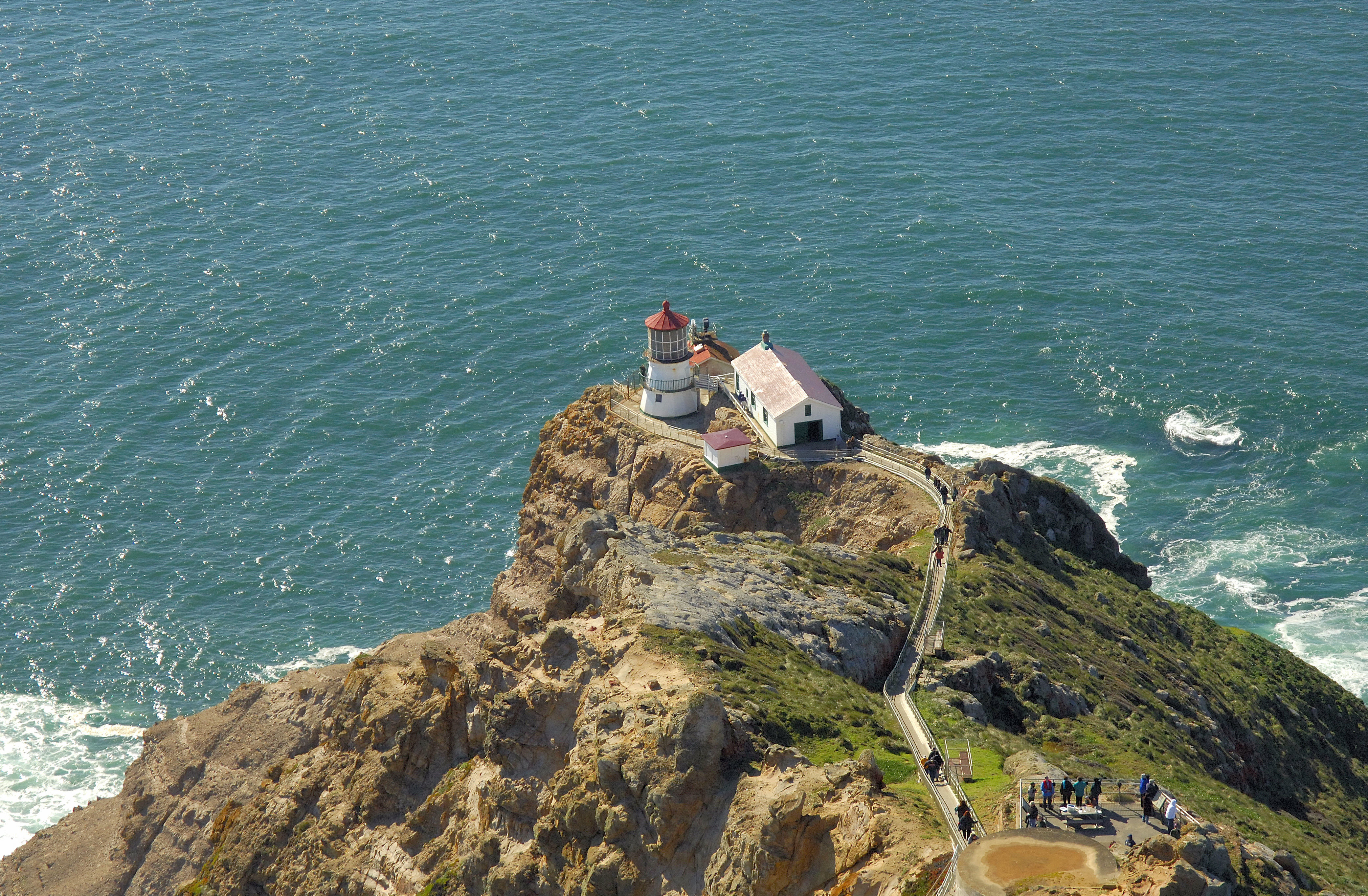 Point Reyes Lighthouse In Ca United States Lighthouse