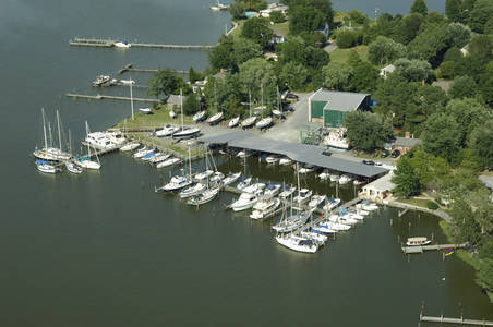 Campbell's Boatyard at Jack's Point