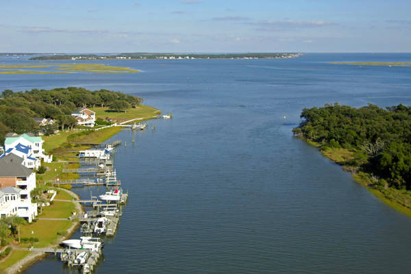 Beaufort Harbor Inlet