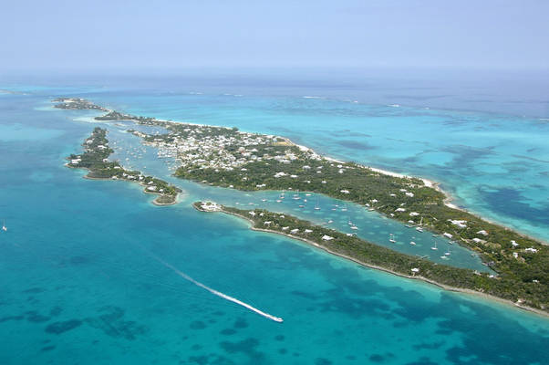 Man-O-War Cay Anchorage
